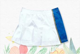 ファイターズのスカート