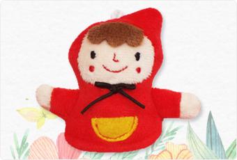 赤ずきんちゃんのマスコット